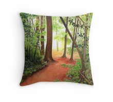 PATH TO THE HUDSON Throw Pillow