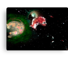 Birth of a Nebula Canvas Print