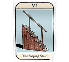 The Sloping Stair Poster