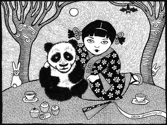 My Little Panda by Anita Inverarity