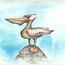 Malevolant Pelican by Chris Harrendence