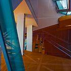 Los Angeles CA Abstract Reflection by photosbyflood