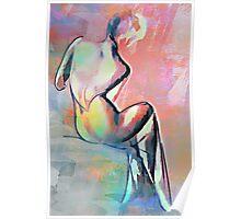 Beautiful back,.,,,,, Poster