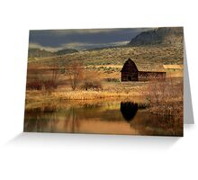 Black Sage from dawn to dusk 5/7 Greeting Card