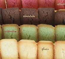 strawberry, chocolate, pistachio or plain? by Fran E.