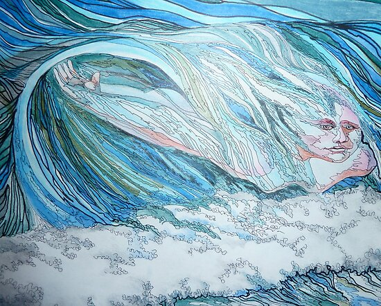 I Love to Catch a wave by Sally Sargent