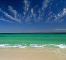 Pinaroo Beach - Perth Western Australia by David J Baster