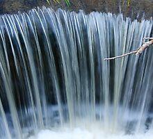 Waterfall Closeup by Karl Wittman
