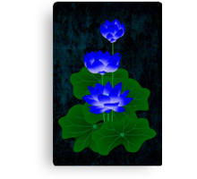 Blue Lotus Canvas Print