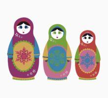 Matryoshka. Kids Clothes