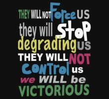 THEY WILL NOT.... by Azzurra