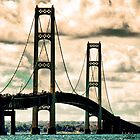 Mackinac Bridge 100110 by Theodore Black