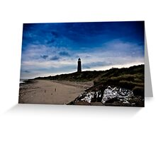 Early Morning at Spurn Point Greeting Card