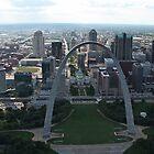 St.Louis Arch by Carol Bock