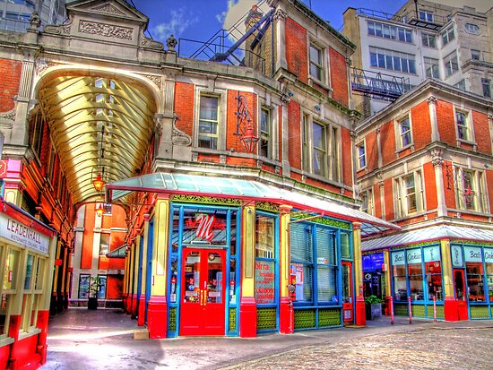 "The ""M"" Bar - Leadenhall Market Series -  London - HDR by Colin J Williams Photography"