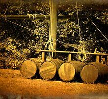 THE MAST AND THE BARRELS by imagetj