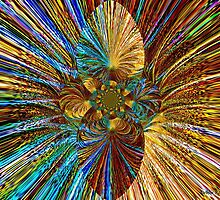 Headlight Kaleidoscope by Debbie Robbins