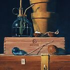 Small Blue Ball by Michael Douglas Jones
