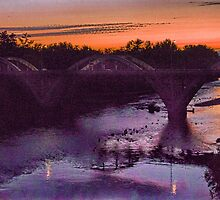 grants pass bridge by Jeannie Peters