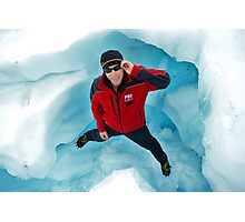 """andy""   fox glacier Photographic Print"