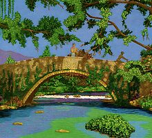 Stoned Bridge. by Terry Conroy