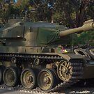 Australian Centurion Tank by Jason Scott