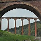 Leaderfoot Viaduct by Glen Jones