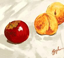 Apple and Peaches by Sophia Spencer