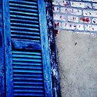 Blue Shutter by MissMargaret