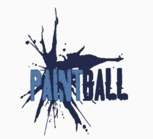 Paintball Blue by Frank Primeau