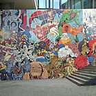 Mural in the underground. by Christa Knijff