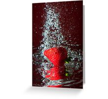 Splash Greeting Card