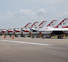 USAF Thunderbirds by RBuey