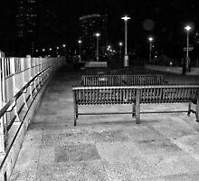 Empty at night by Cindy Mikulski