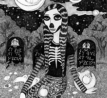 Skeleton Girl by Bethy Williams