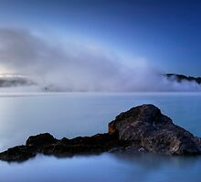 Blue Steamy Dawn by Michael Treloar