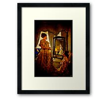The Lady of the House Framed Print