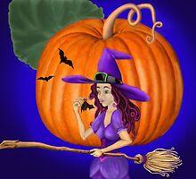 Watch for me by the pumpkin moon by Kestrelle