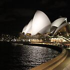 Sydney Opera House at Night by Nina Hofstadler