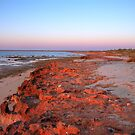 Sunrise at Heron Point, Exmouth Gulf, WA #2 by BigAndRed