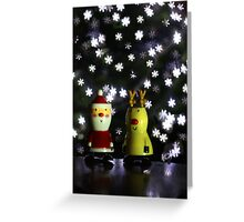 Let it snow: Christmas Card, Happy Holidays Greeting Card