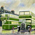 Grey Skies and Green Titans by John Kinsley