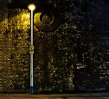 Urban Street railway arches Manchester  by thelwell