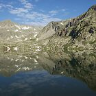 Mountain Reflection - Pyrenees, Spain by Ben Collins