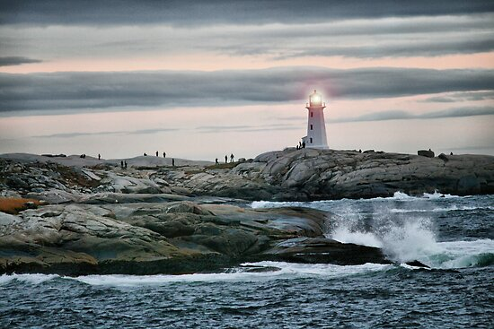 Peggys Cove  by oceaNSedge