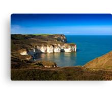 Coastal View Flamborough Head - East Yorks. Canvas Print
