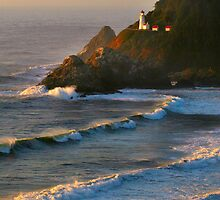 Heceta Head Lighthouse by Kathleen Jones
