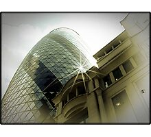 Amazing London - THE GHERKIN - (UK) Photographic Print