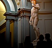 David, by Michaelangelo by Al Bourassa