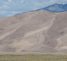 National Park Great Sand Dunes in Colorado by Ann Reece